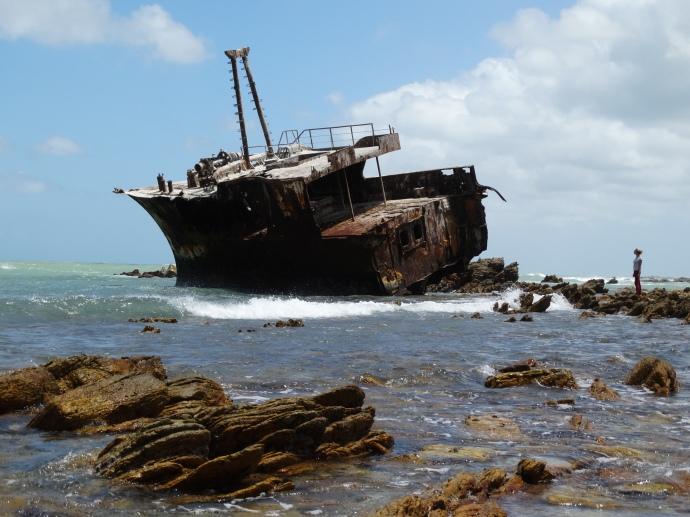Cape Aghulas Shipwreck